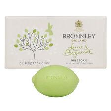 Bronnley Lime & Bergamot Soap - 3 x 100g