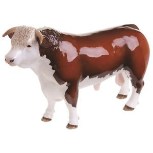 John Beswick Farmyard - Hereford Horned Bull