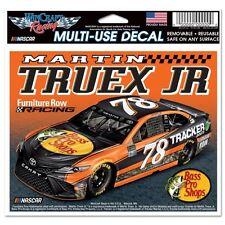NASCAR Martin Truex Jr #78 Furniture Row Bass Pro Shops Multi-Use Decal Sticker