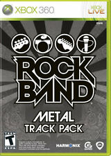 Rock Band: Metal Track Pack Xbox 360 New Xbox 360