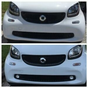 White Angel Eye Halo Fog Lamps Light Kit for 2008-2020 Smart Fortwo