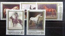 Russia 1988 Horses Set. MNH.