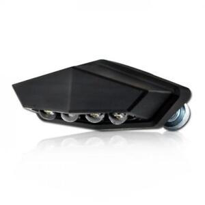 LED-Kennzeichenbeleuchtung Vento schwarz E-geprüft Halter Motorrad Nummernschild