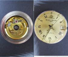 baume mercier geneve bm 860 cal movimento movement automatic watch parts working
