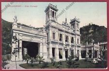 BERGAMO SAN PELLEGRINO TERME 97 CASINO KURSAAL Cartolina viaggiata 1910