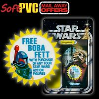 "Kenner STAR WARS Vintage ""Mail-Away Offer"" FREE Boba Fett soft PVC patch/coaster"