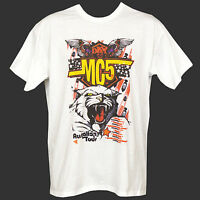 MC5 METAL ROCK T-SHIRT velvet underground iggy pop damned S M L XL 2XL 3XL