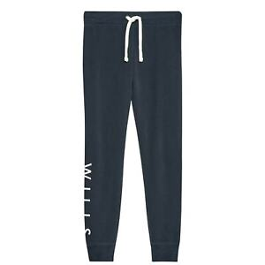 Jack Wills Womens Lingham Soft Skinny Joggers Slim Fit Jogging Bottoms Trousers