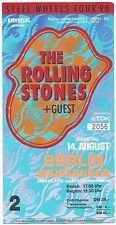 The Rolling Stones   In Concert 1990  Ticket / Konzertkarte / Eintrittskarte