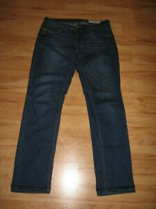 edc by Esprit Five Straight Fit Jeans Gr.31/30 dunkelblau Stretch gut erhalten