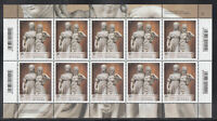A 31 ) Germany 2018 Johann Gottfried Schadow: Princesses 10 MNH ** Stamps Sheet
