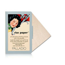 Palladio Oil Absorbing Blotting Rice Paper Tissue 40 Sheets Translucent RPA2