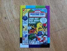 2018 WACKY PACKAGES GO TO THE MOVIES SMALL SCREEN STICKER HARASSAME STREET 6