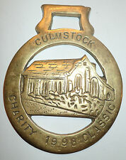 Medaille / plaque Cheval culmstock charity 1998 classic (155 J)