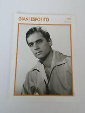 Giani Esposito - Fiche cinéma - Portraits de stars 13 cm x 18 cm