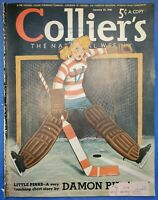 Damon Runyon, Ty Cobb Ad, Helsinki, Pottsy, Annenberg, Collier's, Jan 27, 1940