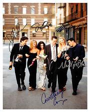 """-(FRIENDS) """"Cast"""" -Autographed 8x10 Reprint"""