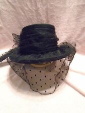 a949c2d103b Peter Bettley London From Saks Fifth Avenue Black Hat with a Big Bow