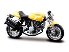 Ducati Sport 1000 gelb Motorrad Modell 1:18 die cast motorcycle model