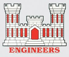 US ARMY CORPS OF ENGINEERS STICKER - MADE IN THE USA!!