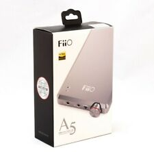 Fiio A5 Headphone Amplifier - Titanium - NEW, just open box!