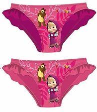 Masha und der Bär Bikinihose 92 98 104 110 116 Bikini Badesachen Badehose Mascha