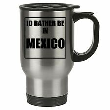 Travel Mug - Id Rather Be In Malta - Stainless Steel Thermal - Reusable Cup Coff