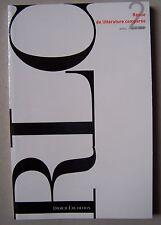 Revue Littérature Comparée RLC 2009 n° 2