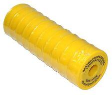 10 ruban bande de PTFE téflon pour joint robinetterie plomberie 19x15x0.20 C1205