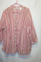 J.H.Collectibles Tunic Style Blouse, size 2X