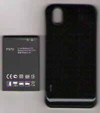 NEW BATTERY FOR LG P970 OPTIMUS BLACK EXTENDED + DOOR 3500MAH USA SELLER