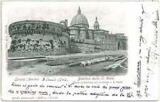 CARTOLINA d'Epoca ANCONA provincia : LORETO - BASILICA 1902