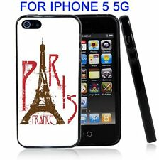 Paris France Eifel Tower White For Iphone5 5G Case Cover