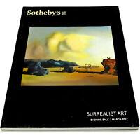SOTHEBY'S Auction Catalog SURREALIST ART Mar. 2017 L17003 MAGRITTE PICABIA TOYEN