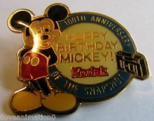 Disney Mickey Mouse Kodak 100th Anniversary of the Snapshot Pin