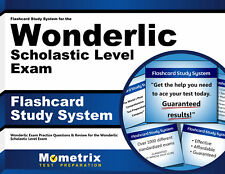 Flashcard Study System for the Wonderlic Scholastic Level Exam
