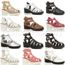 Ankle Straps Block Unbranded Sandals & Beach Shoes for Women