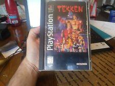 Tekken ps1 long box box only