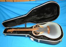 Adamas by Ovation 1681-8 1996 Acoustic Electric Guitar 6 String Blue