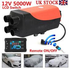 5000W LCD Air Diesel Heater 4 Hole12V PLANAR for Trucks/Motor-homes/Boats/Bus
