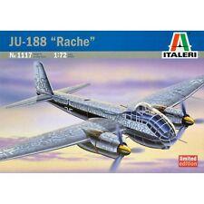 Italeri 1117 Junkers Ju 188 A-1/E-1 Rache 1/72 plastic scale model kit