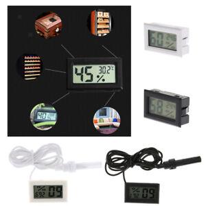 Digital LCD Thermometer Hygrometer for Reptile Vivarium Snake Lizard