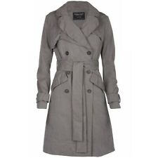 All Saints Ophelia Trench Coat In Grey. Size 8 UK