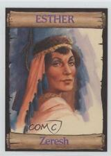 1989 re-Ed Bible Cards Esther #9 Zeresh Non-Sports Card 0q3