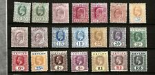 CEYLON (D45-3) 1908-21 RANGE OF 21 STAMPS TO SG356 5r + SG395 + 9 OTHERS MM / MH