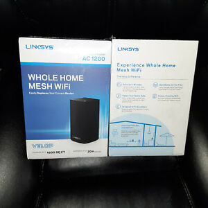 Linksys Velop Dual Band AC1200 Mesh WiFi System VLP0101B Fast USPS Shipping!