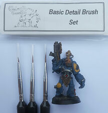 Warhammer 40k / Warhammer age of Sigmar Fine detail Paint Brushes brush Set