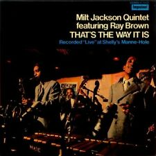 That's The Way It Is - Milt Jackson (2016, CD NIEUW)