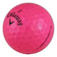 12 Callaway Supersoft Pink Mint AAAAA Recycled Used Golf Balls