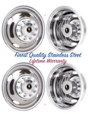 "16"" FORD F350 F450 F-53 10 LUG WHEEL SIMULATOR COVERS HUBCAP RIM LINERS SET 4 ©"